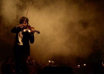 Выступление на концерте. Фото из зала.