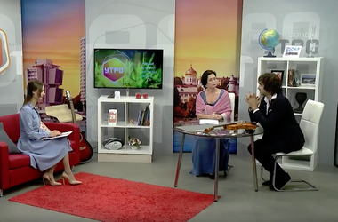 Телепередача на канале «Дон 24»